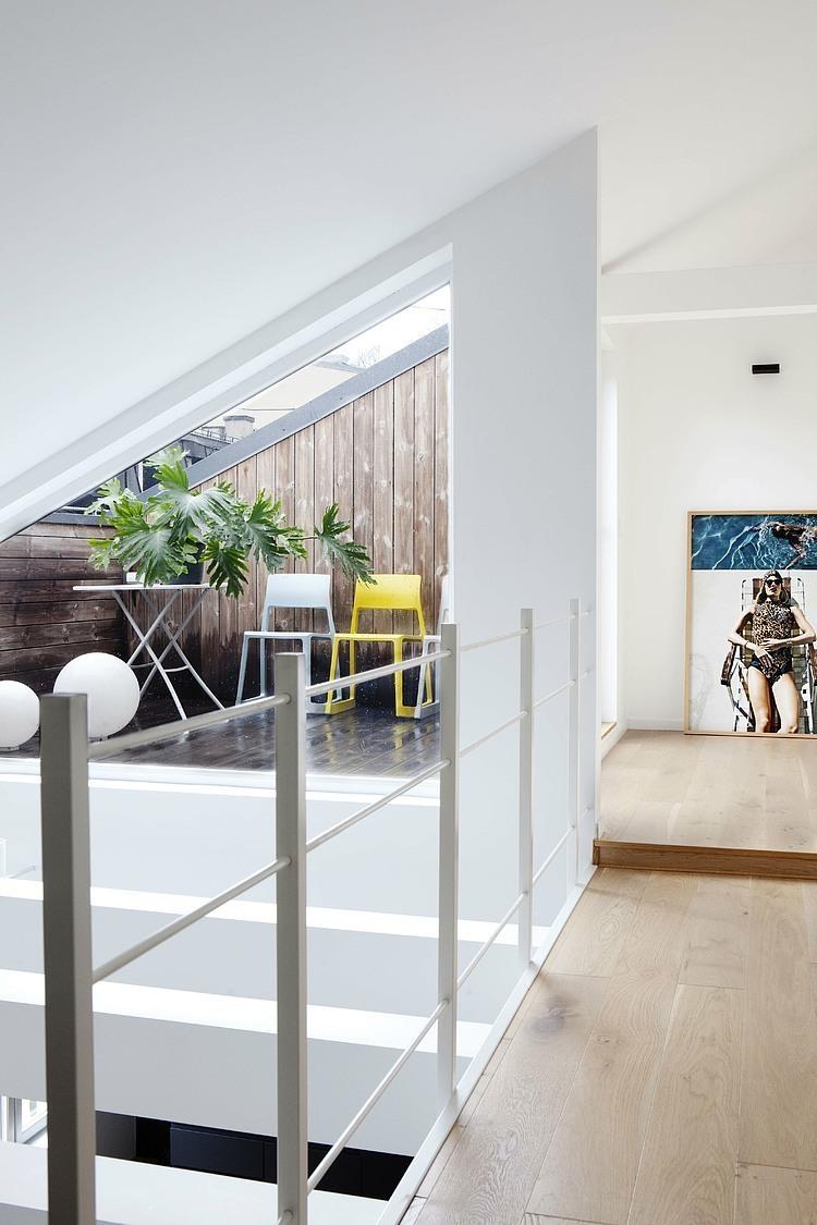 Modern Loft Apartment In Oslo By Haptic Architects Homedezen