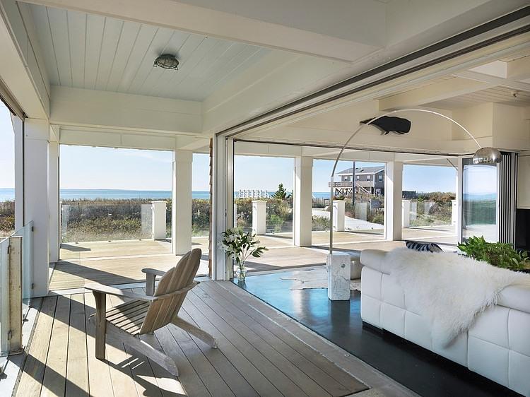 Modern residence in Rhode Island, USA