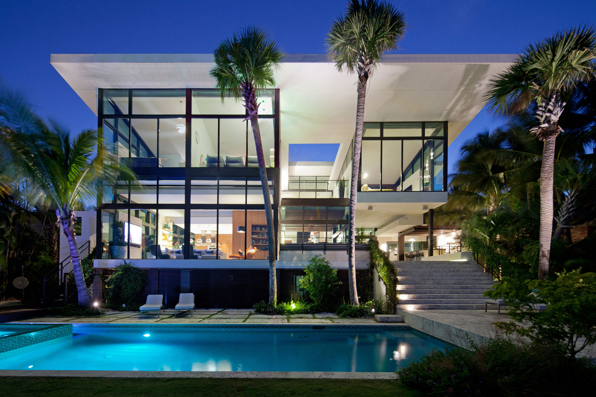 Outstanding Stylish Residence With Beautiful Views In Miami Florida Interior Design Ideas Inesswwsoteloinfo