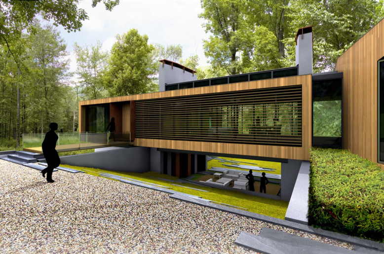 Contemporary House by Joeb Moore + Partners Architects