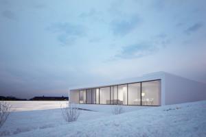 Minimalist House in Reykjavik by MOOMOO Architects