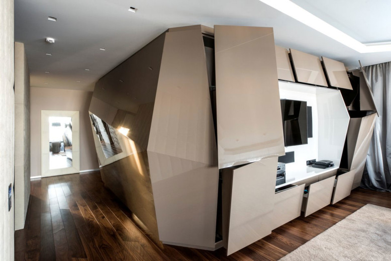 Modern Apartment in Moscow by Geometrix Design