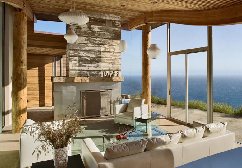 Oceanfront House in Big Sur, California