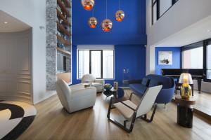 Stylish Penthouse in Shanghai by Dariel Studio
