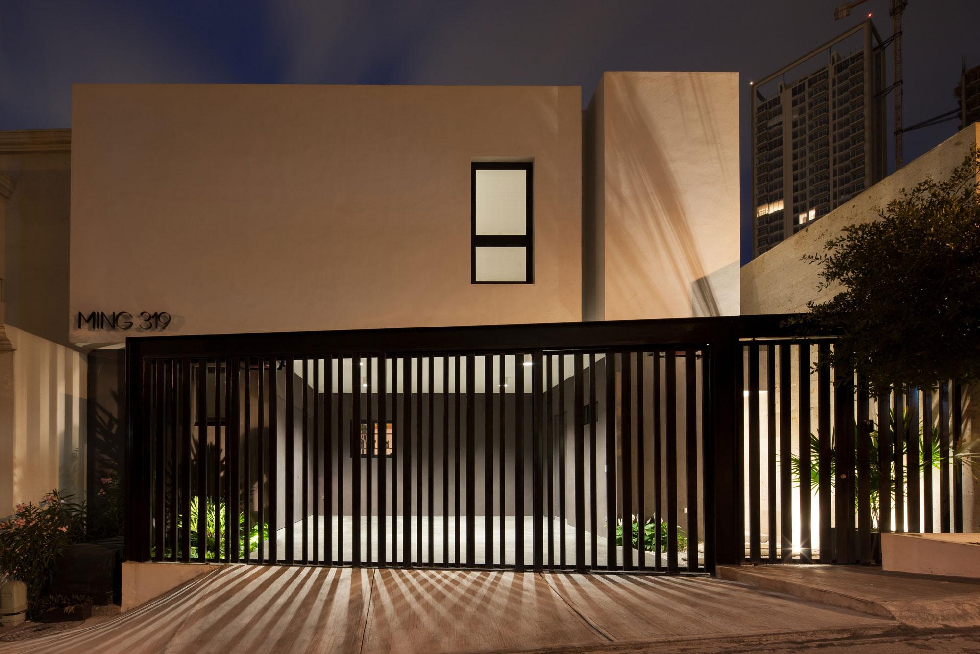 Casa Ming By Lgz Taller De Arquitectura Homedezen