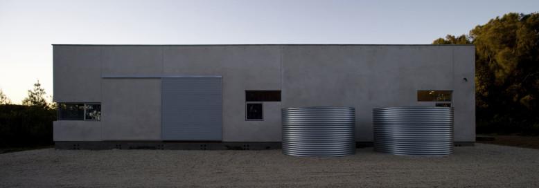 ... Bourne Blue Architecture . It is located on Diamond Beach, Australia