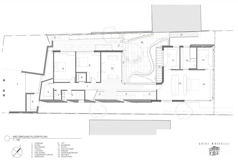 by Luigi Rosselli Architects