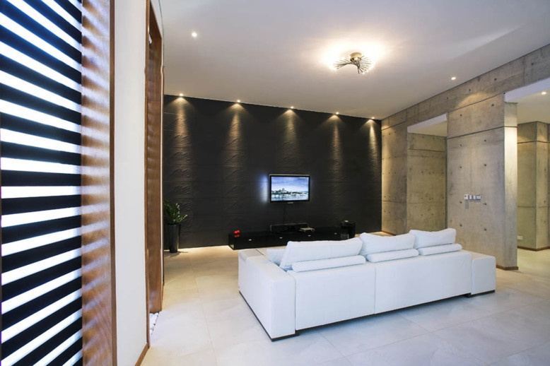 Contemporary Concrete House in Cyprus