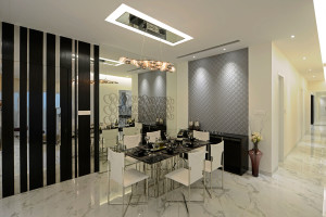 Luxurious apartment by GA design in Mumbai, India