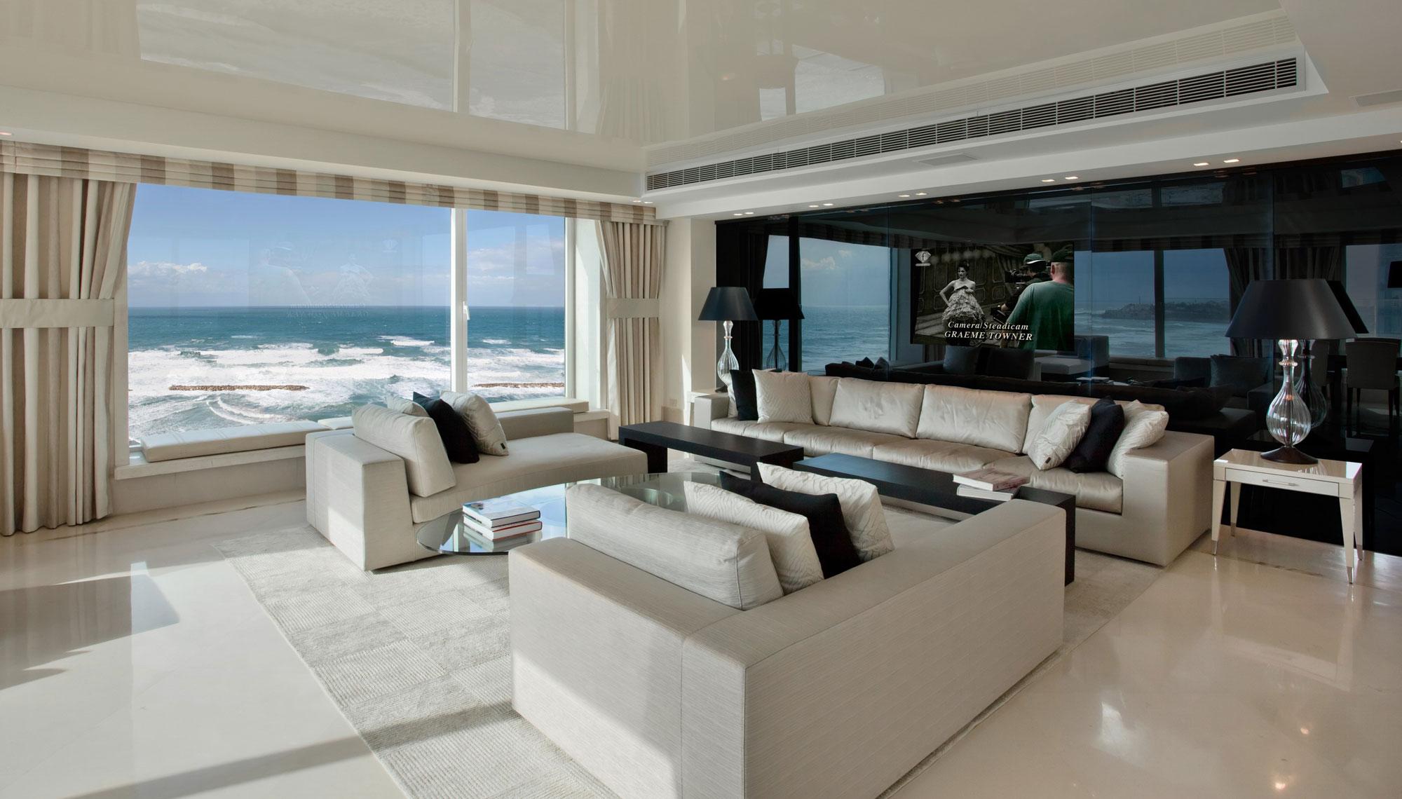 luxury apartment on the beach by daniel hasson homedezen