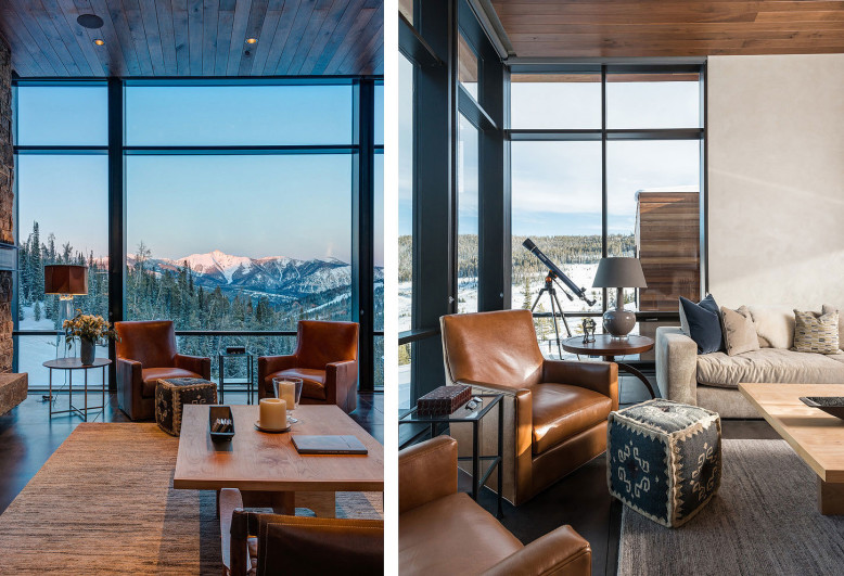 Contemporary Mountain Retreat by Pearson Design Group