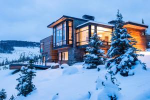 Mountain Modern Retreat by Pearson Design Group