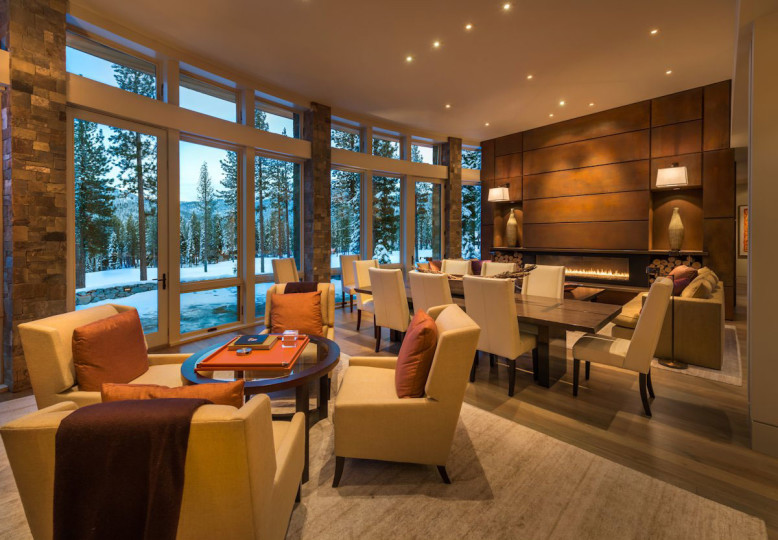 Modern Residence in Martis Camp by Swaback Partners-