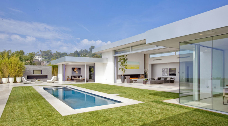 Remodeled House in Beverly Hills