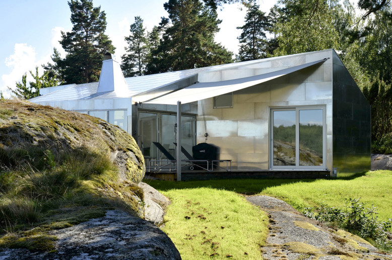 The Aluminum Cabin by JVA