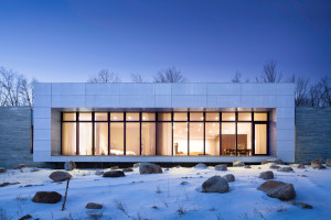 A House In The Woods by William Reue Architecture