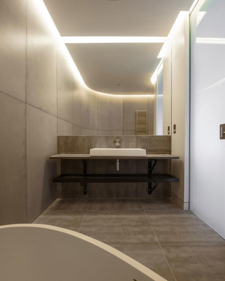 Modern Loft Apartment Bedroom: Contemporary Loft By Studio Verve Architects