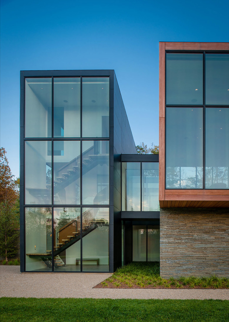 Contemporary residence by robert m gurney architect for Contemporary residential architecture