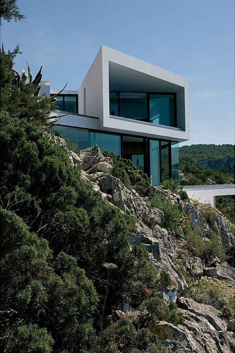 Dream house in Ibiza with wonderful views