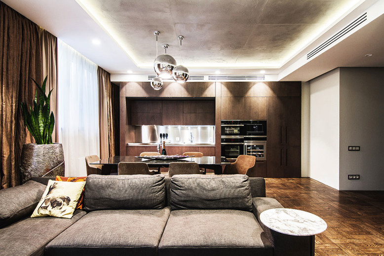 Flat in Kiev by Yo Dezeen