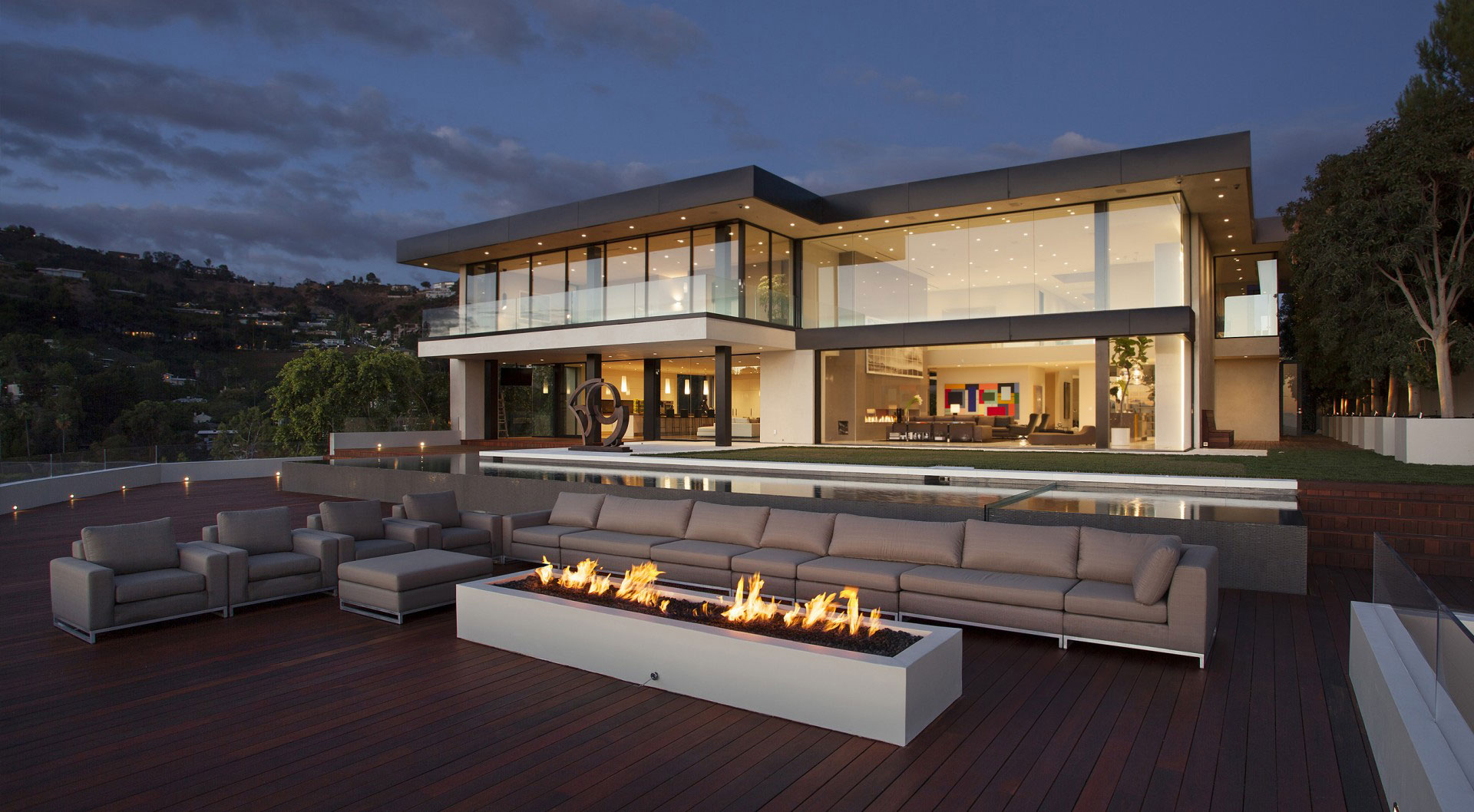 Sunset Strip House By McClean Design Homedezen