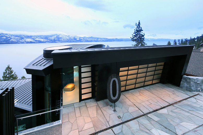 The Cliff House by Mark Dziewulski Architect