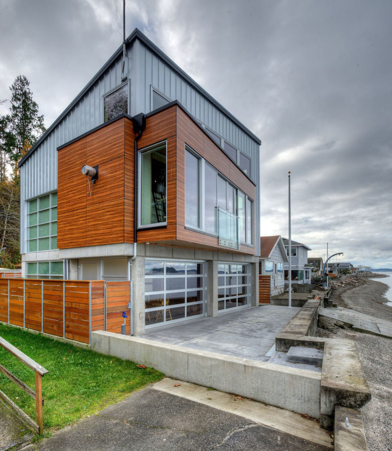 The Tsunami House by Designs Northwest Architect