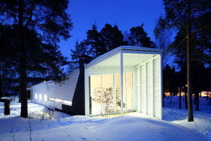 Wooden Family House in Finland