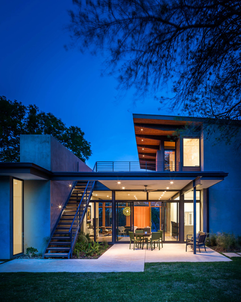 Residence by A Parallel Architecture