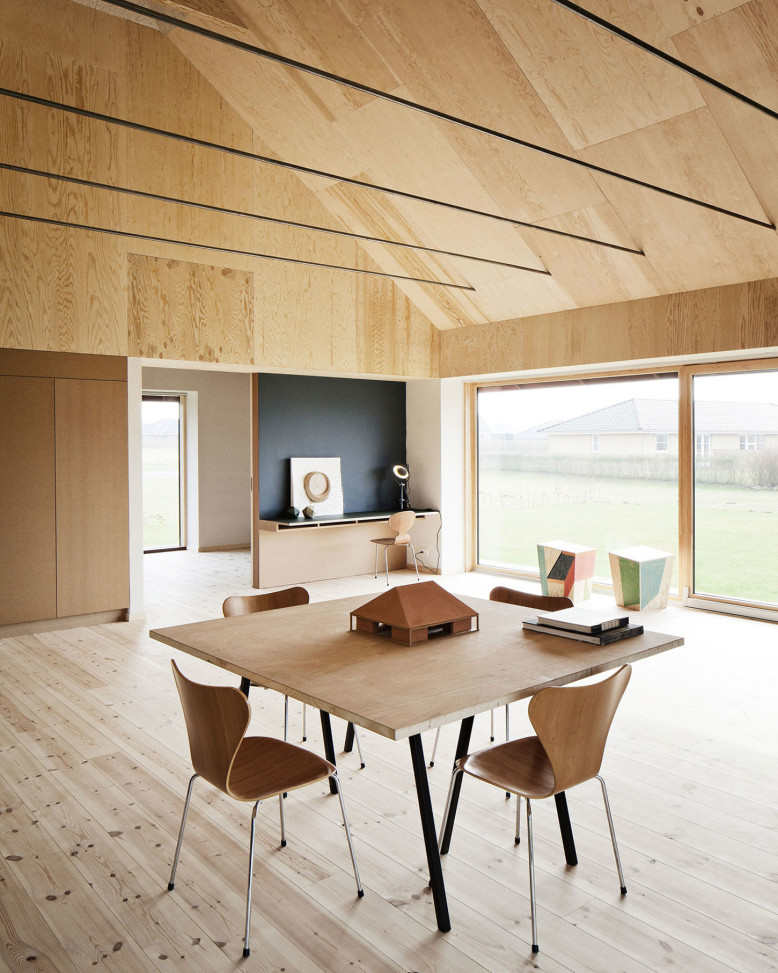 Sustainable House in Denmark