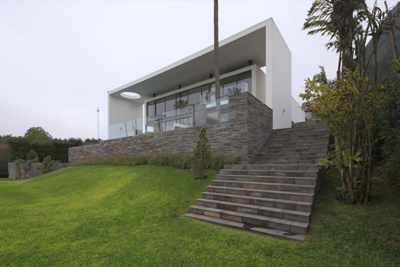 House on the Hill by Jose Orrego