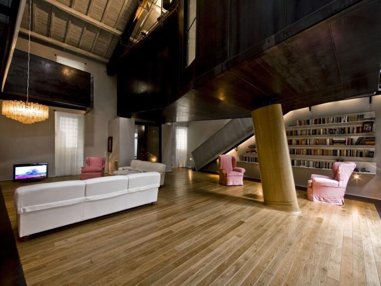 Modern loft in Rome by MdAA architects