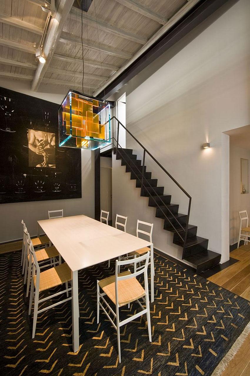 Modern Loft In Rome By Mdaa Architects Homedezen