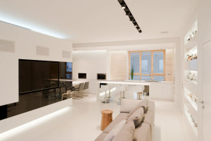 Moscow Apartment by SL Project