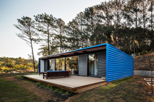 Small summer house in Brazil: Residência O.Z.
