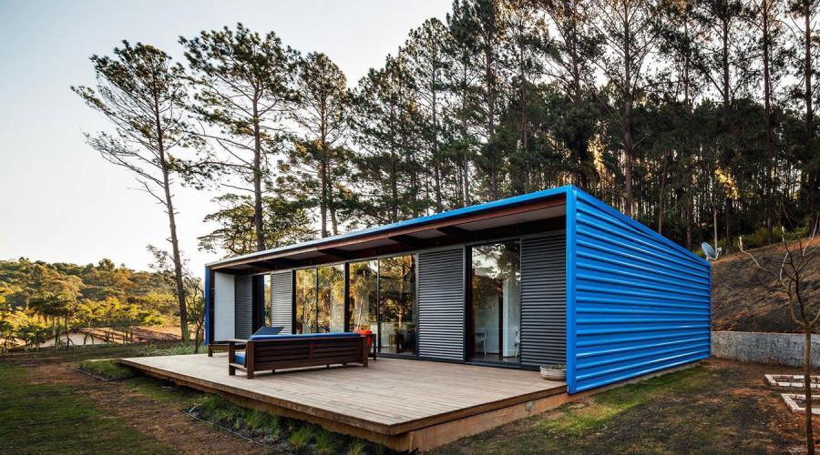 Small summer house in Brazil: Residência O.Z.