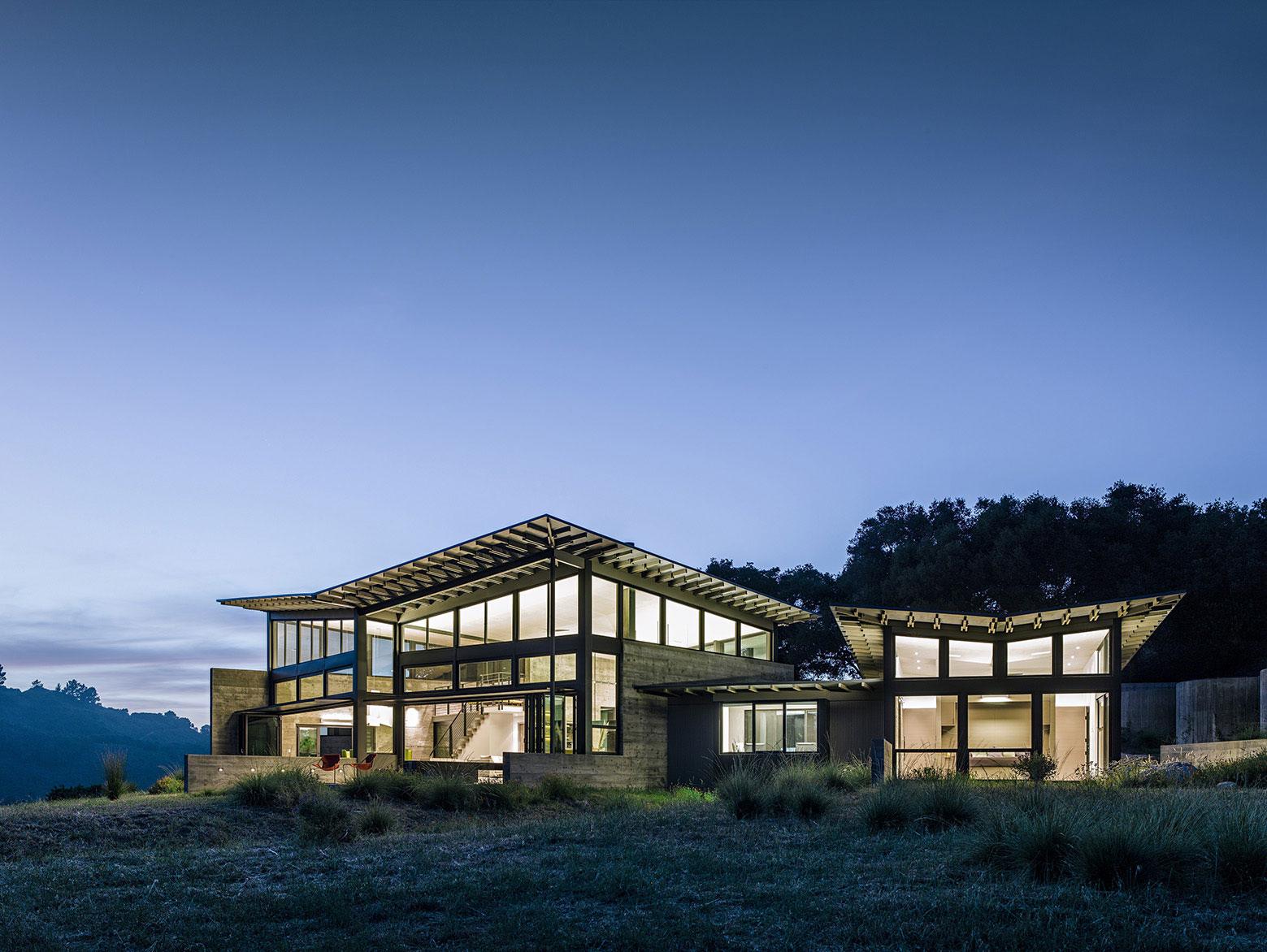 Butterfly House By Feldman Architecture Homedezen