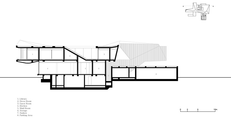 Plan Guest House Rivendell
