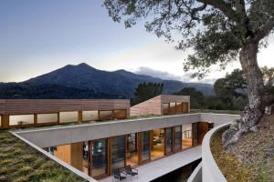 Hillside Residence by Trunbull Griffin Haesloop Architects