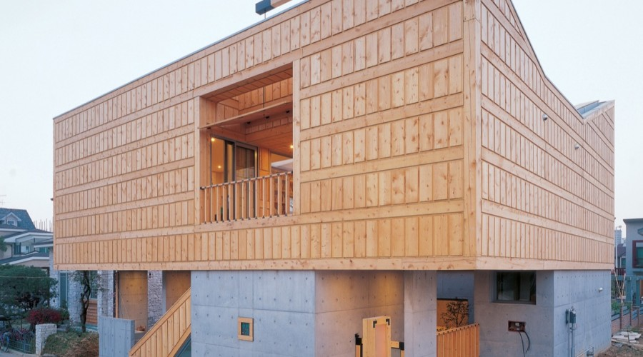 Lim Geo Dang House by IROJE KHM Architects