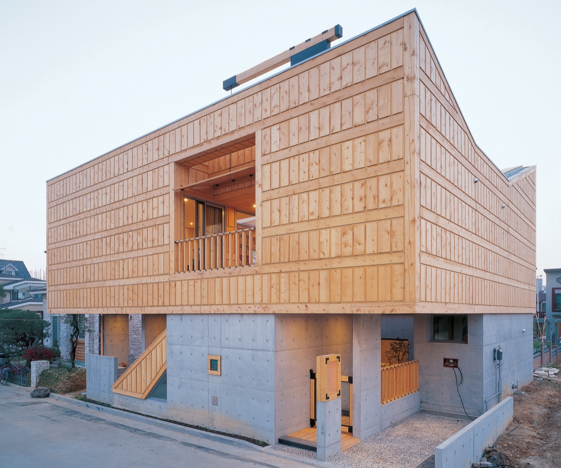 Geo dang house is a traditional but modern house designed by iroje khm