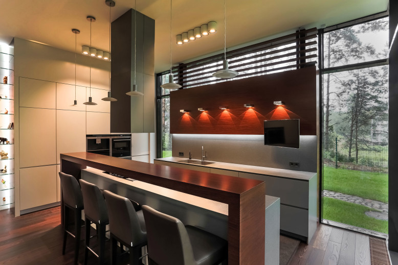 beautiful modern residence