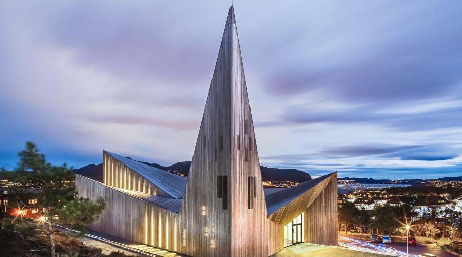 Community Church Knarvik by Reiulf Ramstad Arkitekter