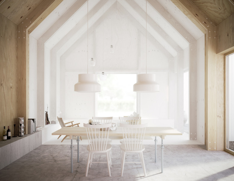 House for mother in Sweden