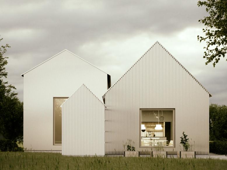 Corrugated Aluminium House