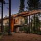 Modern interpretation of a mountain home: Flight House