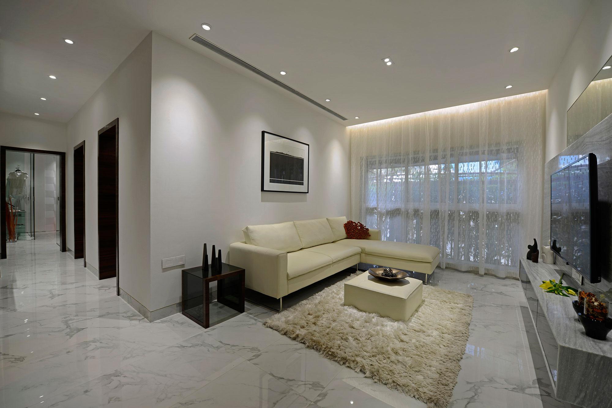Stylish Residential Apartment By Ga Design Homedezen