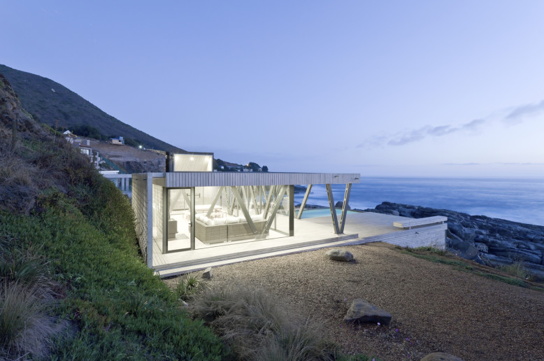 Weekend house in Chile with beautiful views of the Pacific Ocean