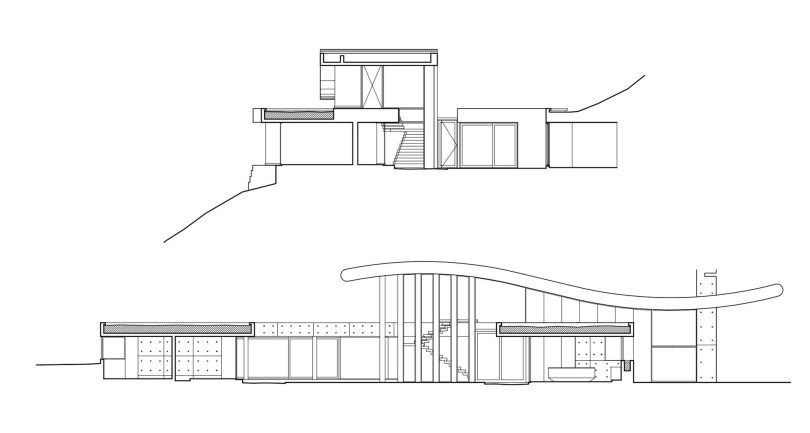 Residence in Chile by Raimundo Anguita