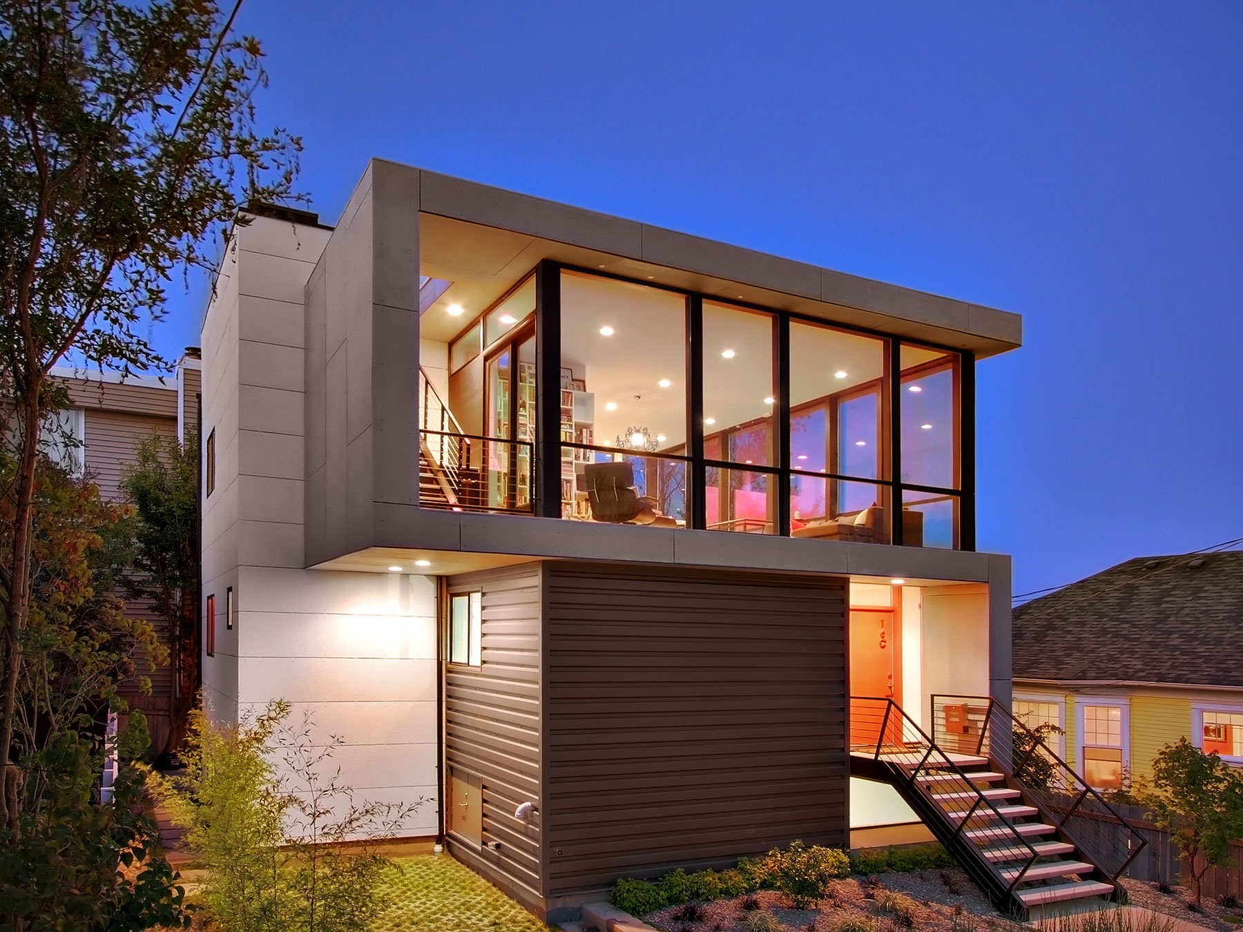contemporary residence best minimalist home designs | Crocket Residence by Pb Elemental Architecture | Homedezen
